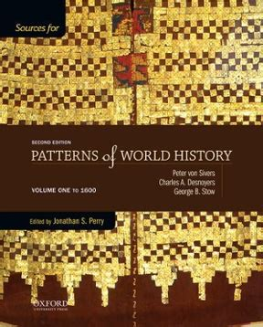 pattern of world history sources in patterns of world history 2nd edition rent