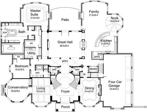 17 best images about house plan on luxury