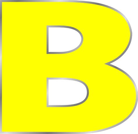 Letter B Clipart letter b clip at clker vector clip