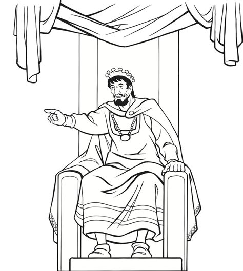 king solomon coloring sheets google search clip art pinterest king throne clipart 24