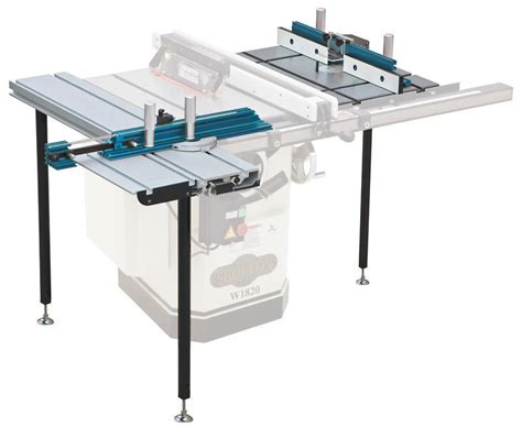 table saw with router shop fox w1820 rt st 10 quot 3hp table saw w router sliding