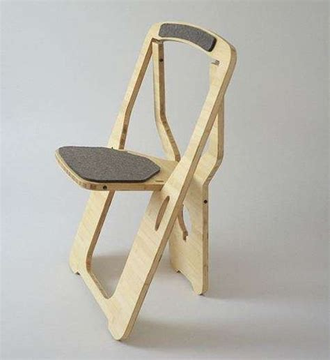 stylish folding chairs 32 smart and stylish folding furniture pieces for small spaces digsdigs