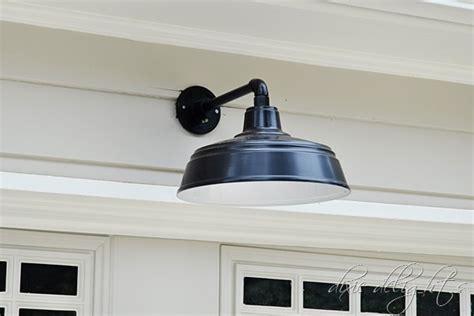 Garage Door Light by All Weather Gooseneck Fixture Delights This Southern Gal Barnlightelectric
