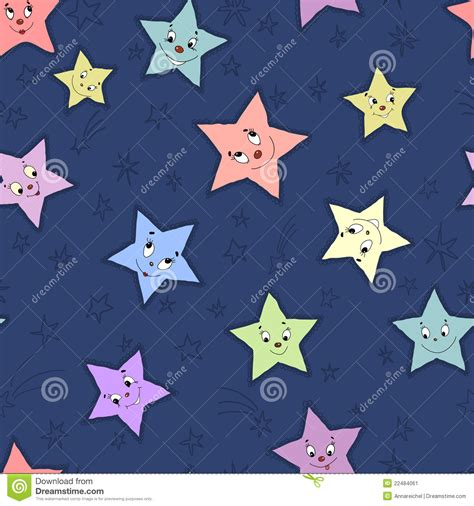 seamless pattern stars seamless pattern with stars stock image image 22484061