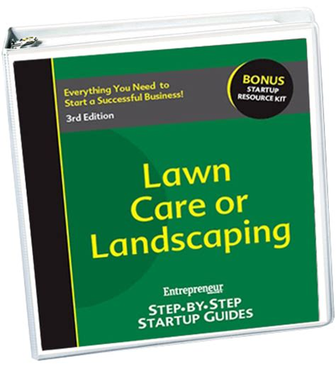 start your own lawn care or landscaping business 3rd edition entrepreneur bookstore