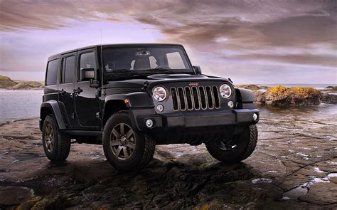 jeep poster 2016 jeep wrangler 75th anniversary model photograph by