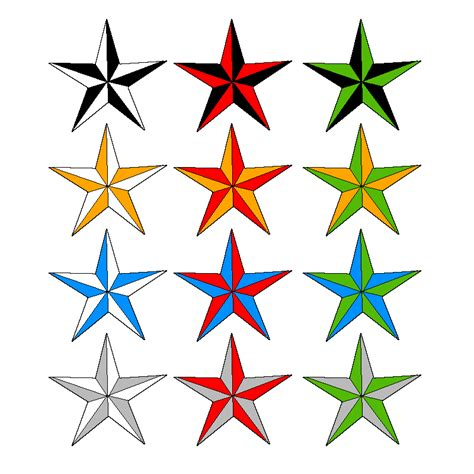 nautical star tattoos designs 9 nautical design ideas