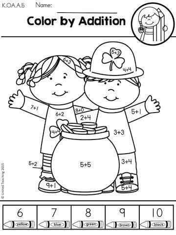 s day kindergarten st s day kindergarten math worksheets math