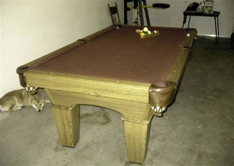 olhausen pool table for sale 1000 san francisco bay