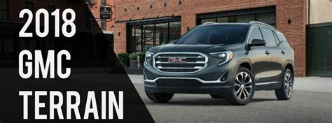 what s new in the 2018 gmc terrain