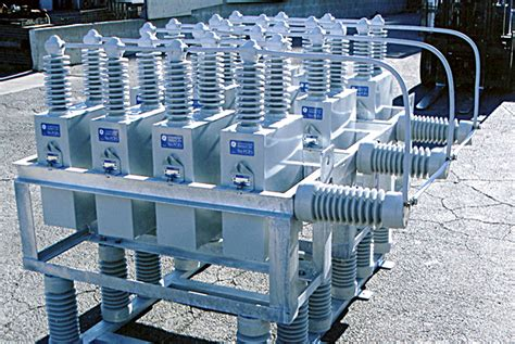 capacitor bank engineering engineering pole line capacitor racks