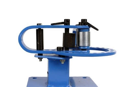 bench top pipe rod compact bender bending metal