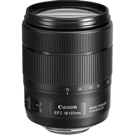 canon ef s 18 135mm f 3 5 5 6 is usm lens 1276c002 b h photo