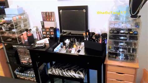 The Brick Vanity Table Make Up Desk Diy Makeup Vanity Brilliant Setup For Your Room Table Clipgo Lighted Vanity Makeup