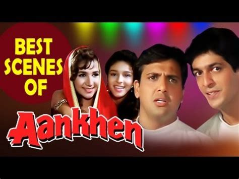 biography of movie aankhen ankhen 1993 best hindi comedy scene kader khan