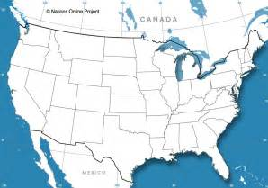 blank united states map blank map of the united states nations project