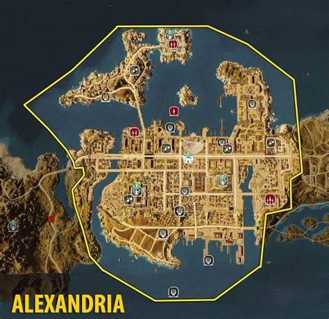 alexandria map map of alexandria tombs papyrus puzzles and secrets