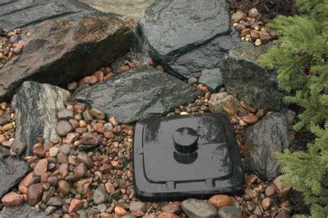 aquascape pondless waterfall vault pond filtration