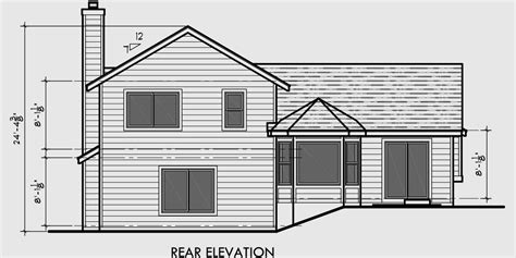 4 level side split house plans split level house plans 3 bedroom house plans 2 car