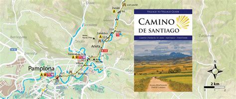 camino trail map camino guidebooks to guides camino de