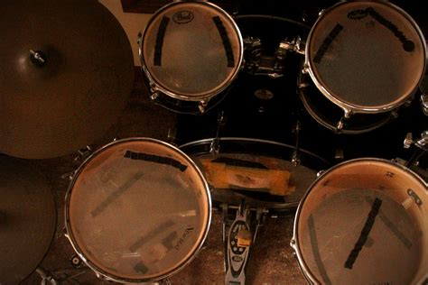 of a how to understand the parts of a drum set 6 steps with pictures