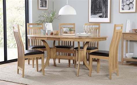 Dining Room Extending Table Sets Townhouse Oval Extending Dining Table And 4 Bali Chairs