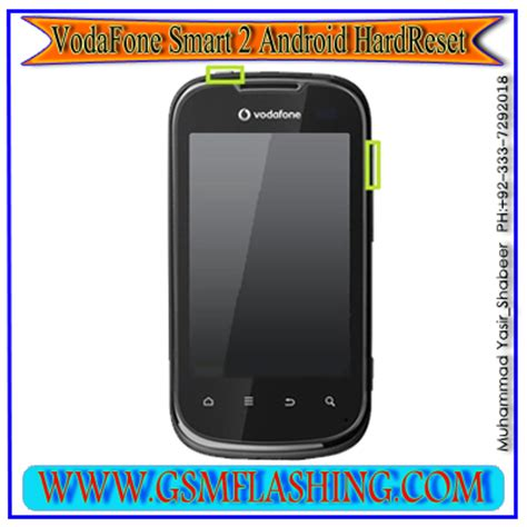 esegui reset software vodafone how to hard reset and farmat vodafone samart 2 android