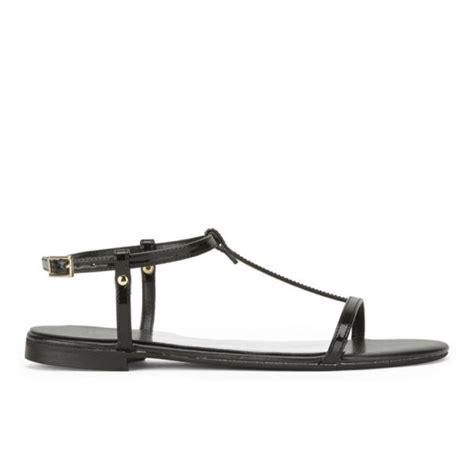 kg kurt geiger s match metallic sandals black free uk delivery allsole