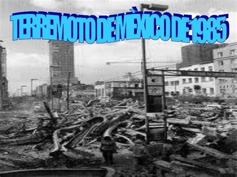 imagenes en ingles de terremotos terremoto del 85