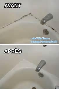 nettoyer moisissure joint salle de bain