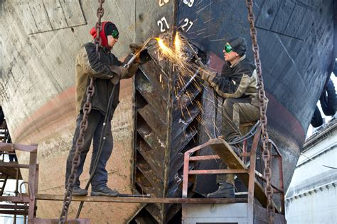 Shipyard Welding by Ship Designs Then And Now Part 2