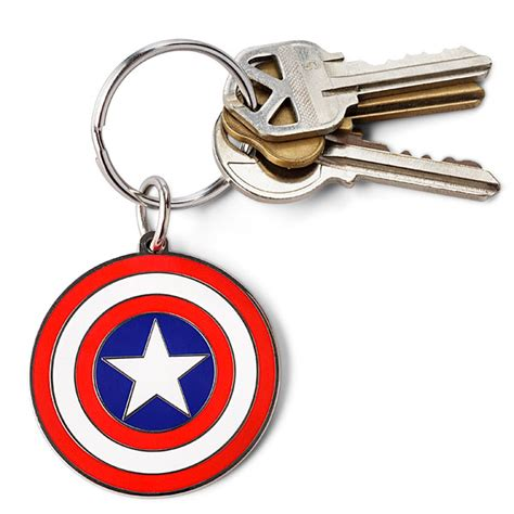 marvel enamel keychains thinkgeek