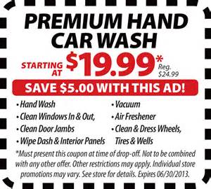 Car Wash Deals Printable Car Wash Coupons Deals Special Offers Promotions