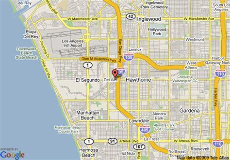 california map el segundo ramada plaza hotel lax el segundo hawthorne deals see