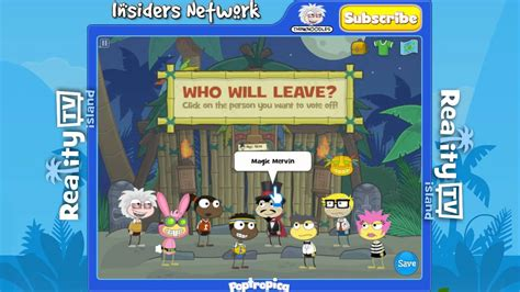 Thursday Three Reality Tv by Poptropica Road To Quot Captain Thinknoodles Quot Reality Tv