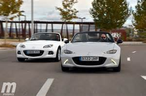 mazda mx 5 nd vs nc what smaller means less space most
