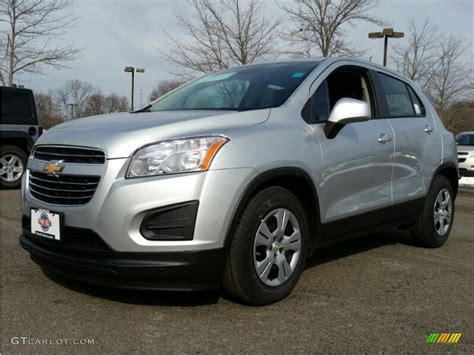 Black And Silver Ls by 2015 Silver Metallic Chevrolet Trax Ls 101127634