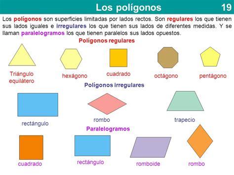 figuras geometricas regulares y sus nombres los pol 237 gonos los pol 237 gonos son superficies limitadas por