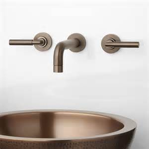 Wall Faucet by Wall Mount Bathroom Faucets Signature Hardware