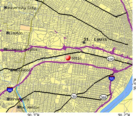 Le Mo Zip Code by Le Mo Zip Code 60 Images Metro Area Zip Code Maps Of
