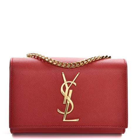 ysl small kate monogram bag red adorn collection