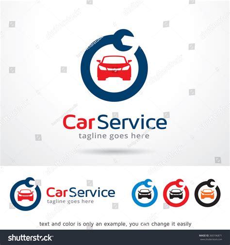 car service logo car service logo template design vector stock vector