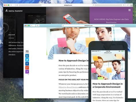 layout vision blog design teardown redesigning a blog to meet business