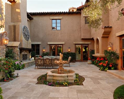 patio in spanish selection spanish style for your garden patio design