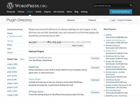 developing for the org plugin directory