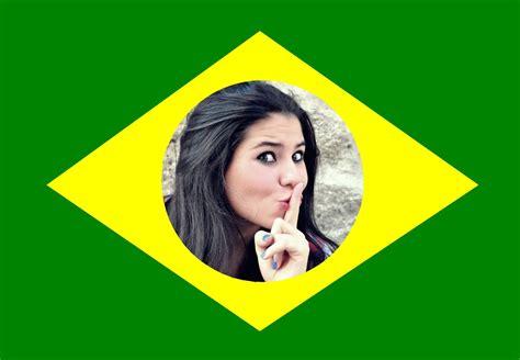 fotos para perfil bandeira do brasil montagem de fotos futebol moldura de foto da bandeira