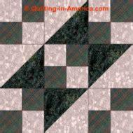 Railroad Quilt Block Pattern by Ladder