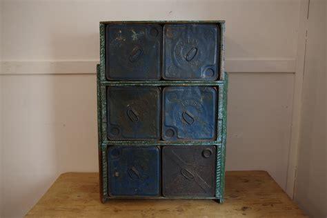 blue chest of drawers australia 1920 s depression kerosene tin chest of drawers stalking
