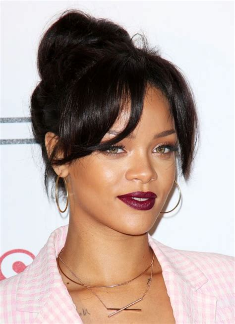 rihanna hairstyles games rihanna is about to make you change your red lipstick game