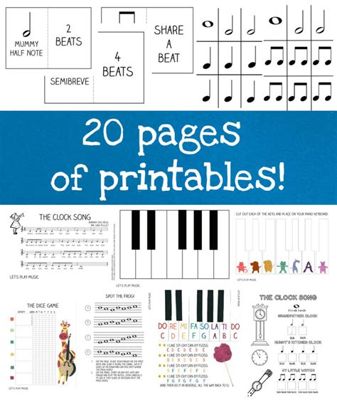 printable music lesson plans world music first piano lessons ebook let s play music